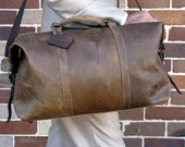 52 cm cowhide (Crazy Horse Finish) Duffle Bag by RUST
