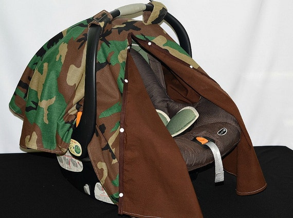 Army Camo Infant Car Seat Cover