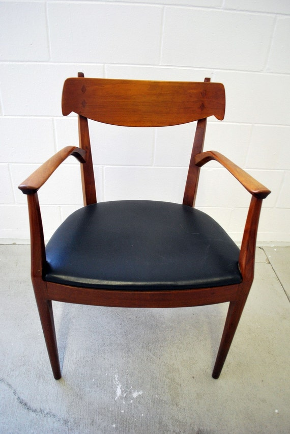 Mid Century Drexel Arm Chair Declaration Series By Kipp