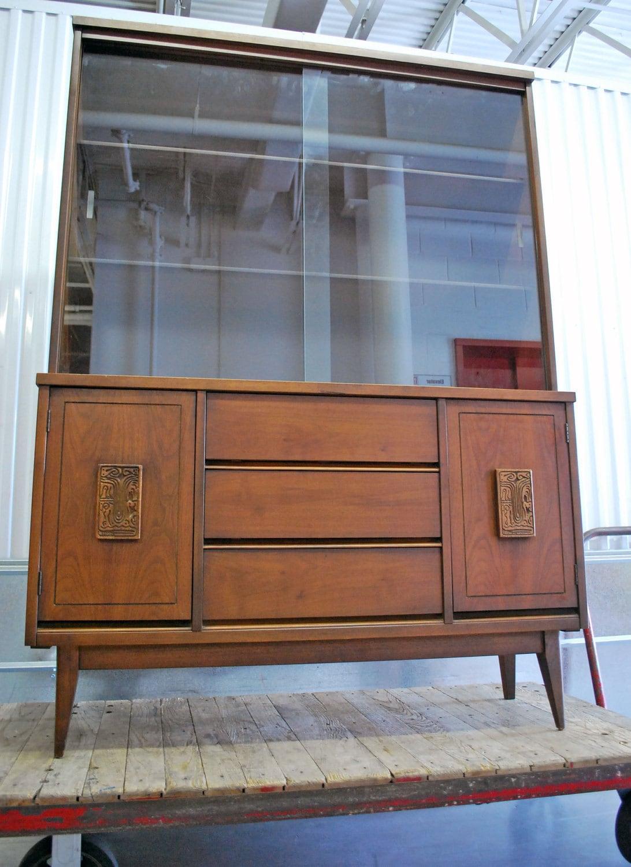 china cabinet phylum furniture mid century china cabinet ell