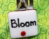 Bloom Fused Glass Plant Marker