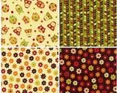Apple Fabric by Timeless Treasures -  Set of 8 Fat Quarters (Australia)