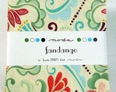 Fandango Charm Square Pack - Moda Fabrics