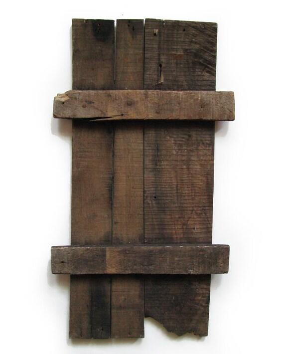 Vintage Wood Panel