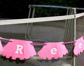 PERSONALIZED Happy Birthday PARTY banner, personalized banner, happy birthday, photo prop, personalized tutu and ties banner, party decor