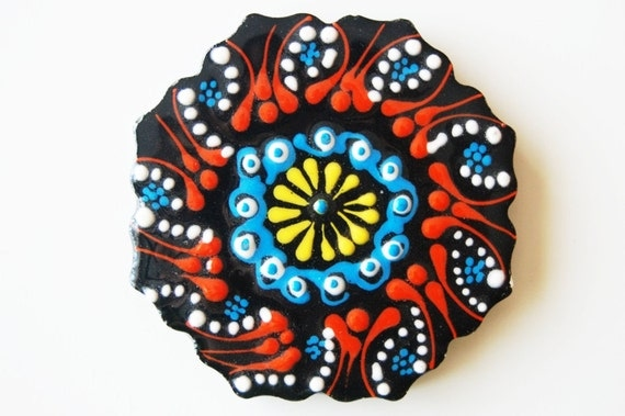 Turkish Ceramic Cup Coaster