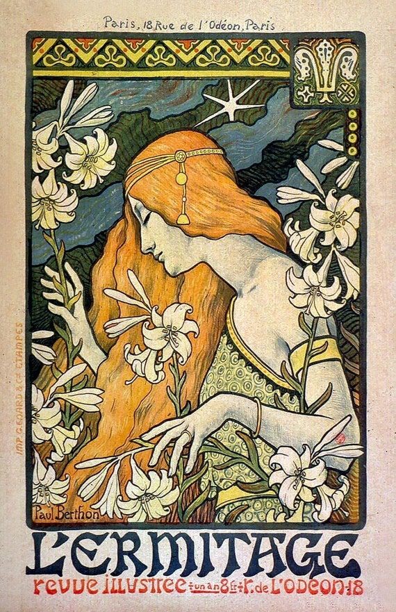 french vintage art poster jpg 1200x900