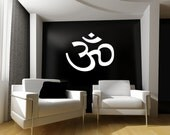 Om Vinyl Wall Art Decal  Symbol Vinyl Wall Mural Decal Graphic
