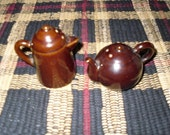 Tea Pot and Coffee Pot Salt and Pepper Shakers