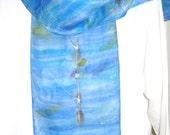 Rowing design silk scarf