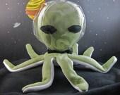 50% Off Sale Plush Alien Octopus ooooOOOOooooh