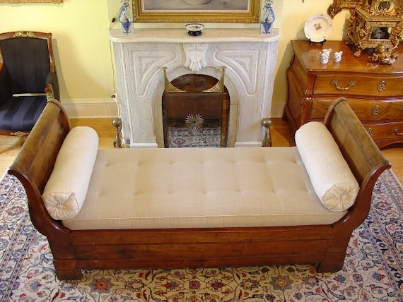 Quintessential 19th Century French Day Bed