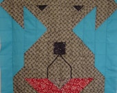 SCHNAUZER- Quilt/Wall Hanging - Pattern Only