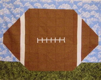 ON THE One Yard Line- Quilt/Wall Hanging - Pattern Only