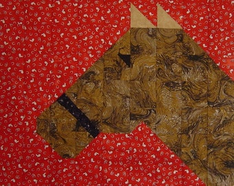 HORSE CRAZY- Quilt/Wall Hanging - Pattern Only