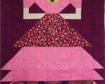 PROM DRESS- Quilt/Wall Hanging - Pattern Only
