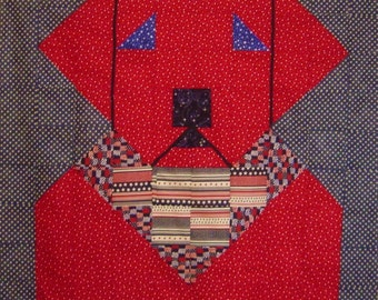 EARLY AMERICAN LAB- Quilt/Wall Hanging - Pattern Only