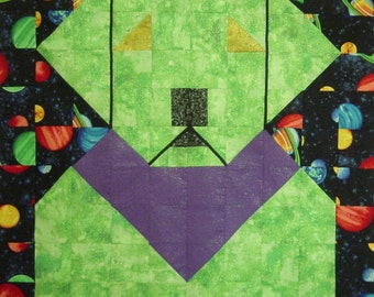 ALIEN LAB- Quilt/Wall Hanging - Pattern Only