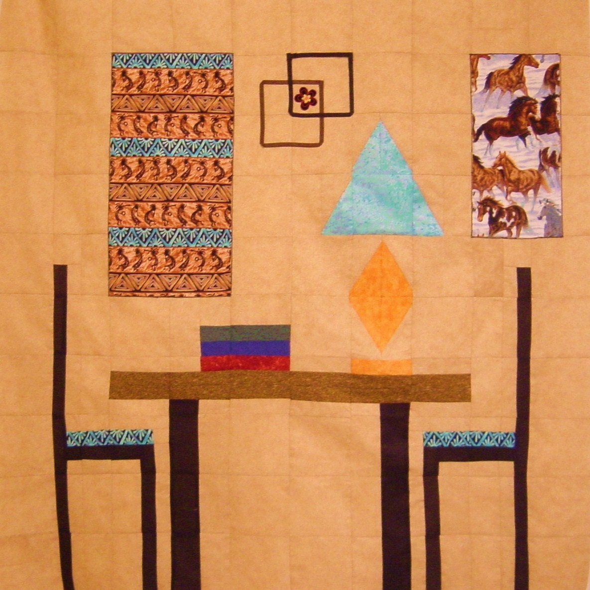 Southwest Decor Quilt Wall Hanging Pattern Only