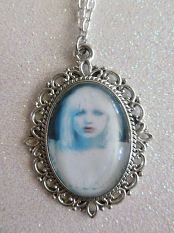 Courtney Love Hole Cameo Necklace