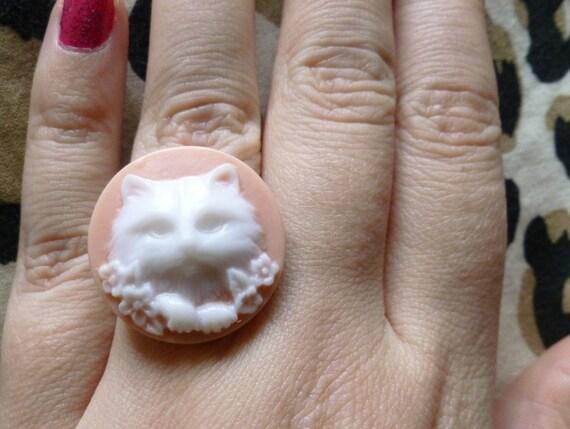 Pink Cat Ring