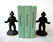 D. H. Lawrence 3 Volume Set - Lady Chatterley's Lover, Women in Love & Sons and Lovers - Mint Green
