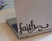 Faith - Vinyl  Decal - free shipping