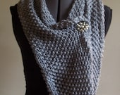 SALE Moss Circle Scarf Cowl