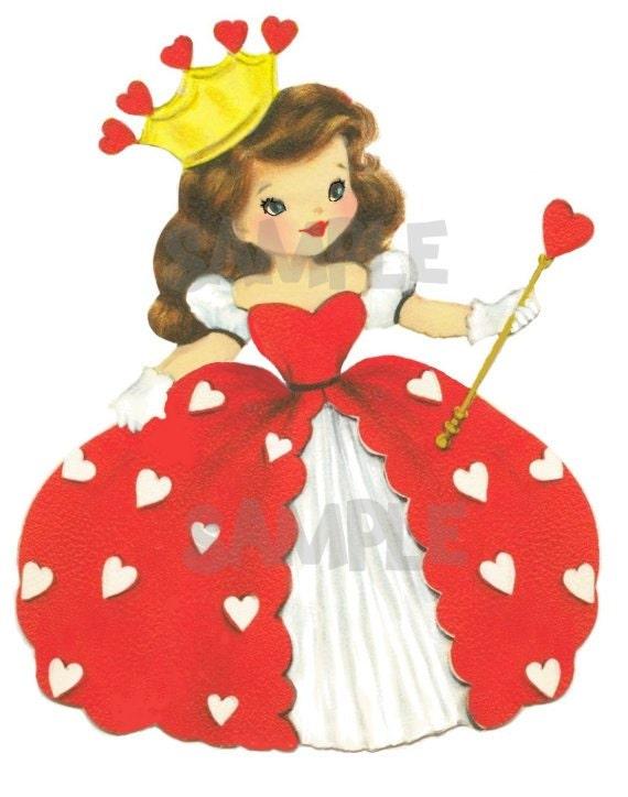 Vintage Queen Of Hearts 121