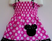 Custom Boutique Clothing Minnie Mouse Smocked   Dress