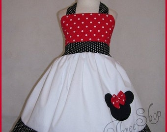 Custom Boutique Clothing Minnie Mouse Disney Dress