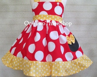 Minnie Mouse Dress children clothing