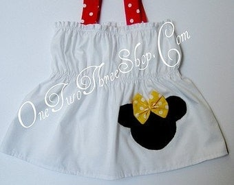 Customo Boutique Minnie Mouse Top 12 Months to 6 Year