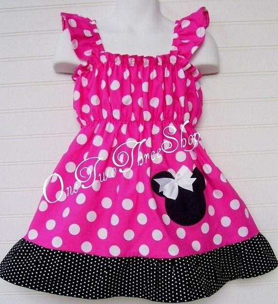 Diane Minnie Mouse Cap Sleeve Dress