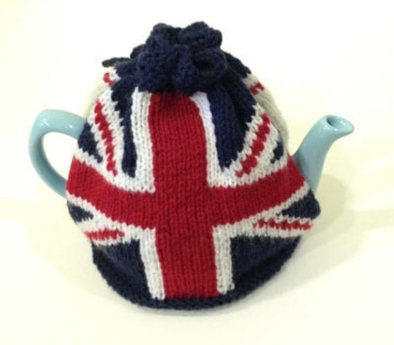 Knitting Pattern For Union Jack : Union Jack Tea Cosy Knitting Pattern