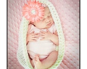 Knit Crochet pattern -  infant pod, baby cocoon pattern, photography prop, sell what you make knit cocoon, PDF format