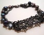 Bracelet Victorian Pearls
