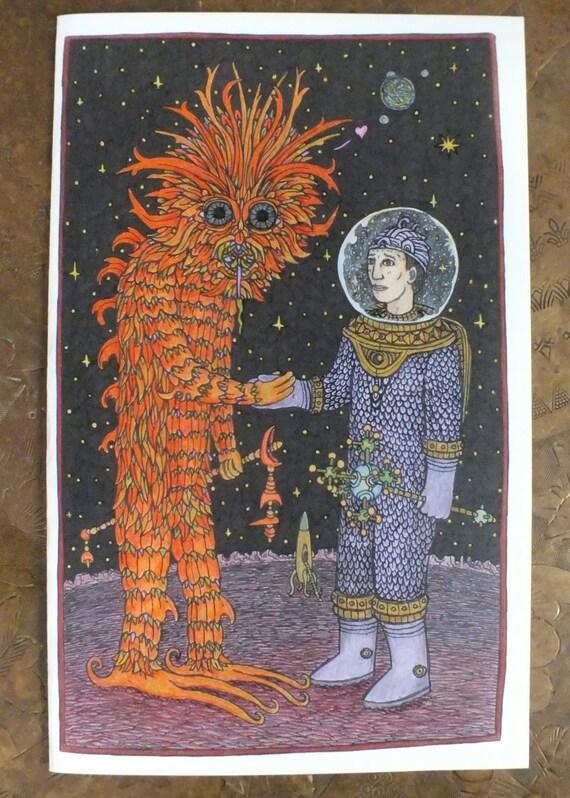 Close Encounter (art card)