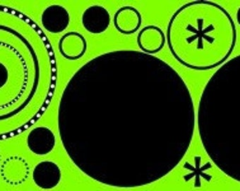 Circles - Vinyl Wall Art, Graphics, Lettering, Decals, Stickers