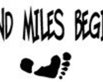 A Journey of a Thousand Miles Saying, Vinyl Wall Art, Graphics, Lettering, Decals, Stickers