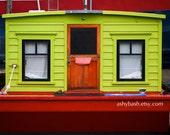 Flashy Lake Union Houseboat