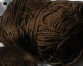 PIF Pay It Forward- Assorted Chocolate Brown Wool, Wool Mix Mixture Yarns De-stash SALE