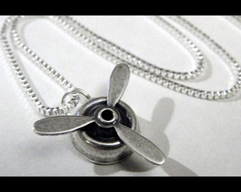 Spinning Steampunk Necklace