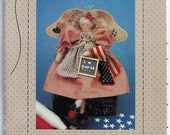 "Country Stitches Pattern No. 140 ""A Star Spangled Sweetie"""