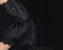 CLEARANCE (Half Price!) - Stretch lace sleeves