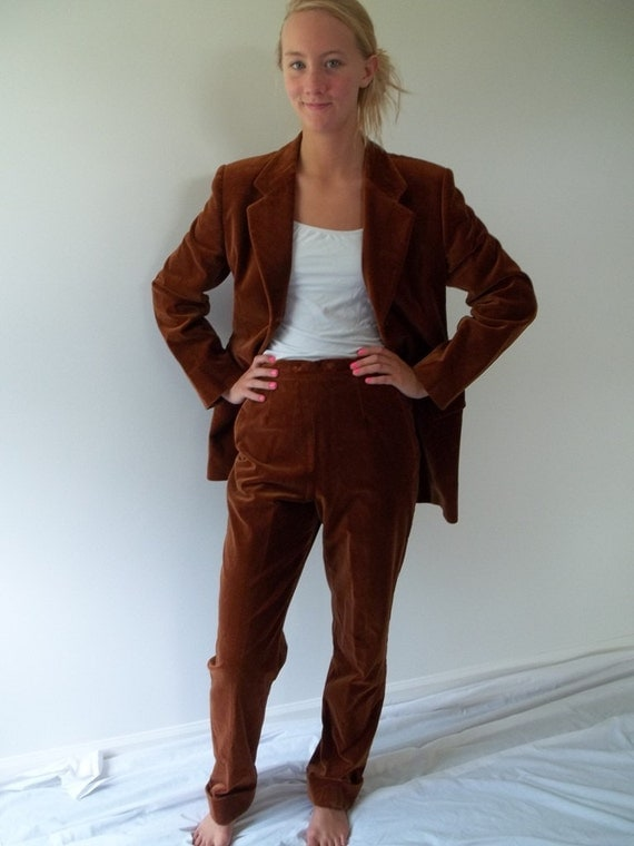 RESERVED  for tinaberi32 1970's Italian pants suit rareTOMBOLINI exquisitely made tailored fall fashion at lilacinspirations RESERVED
