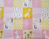 X- Large Receiving Blanket  - MANY options in my shop - ALL Ready to Ship- Zoo Animals- Little Cutie