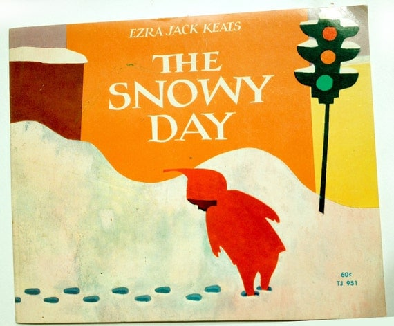 Vintage Book The Snowy Day By Ezra Jack Keats 1966 Second Printing
