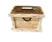 Small Wooden Box (Vintage Style)