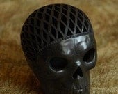 Day of the Dead Clay Skull
